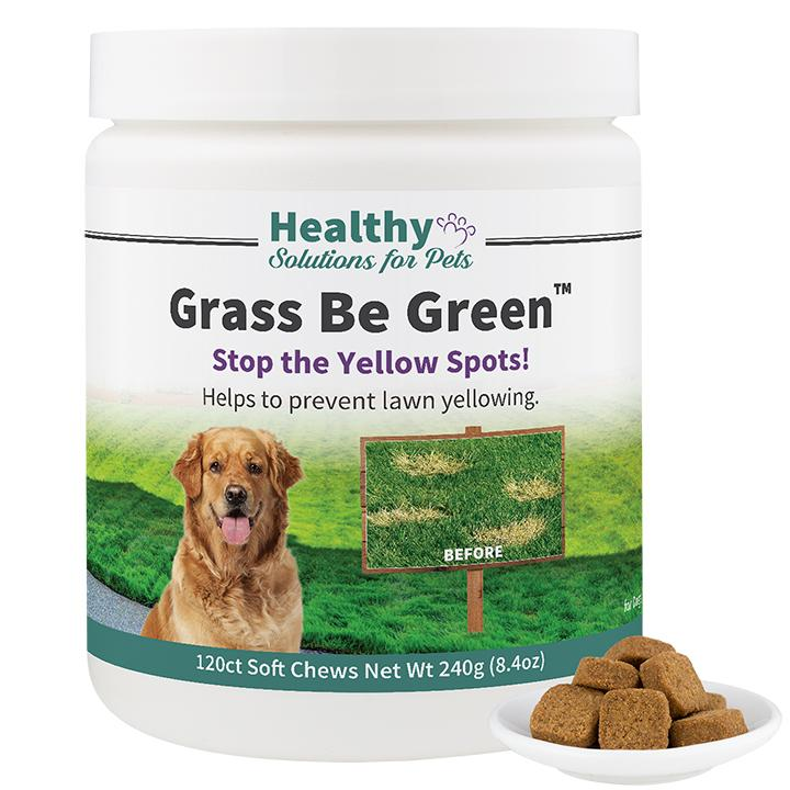 Stop Dog Burns On Gr With Be Green Soft Chews