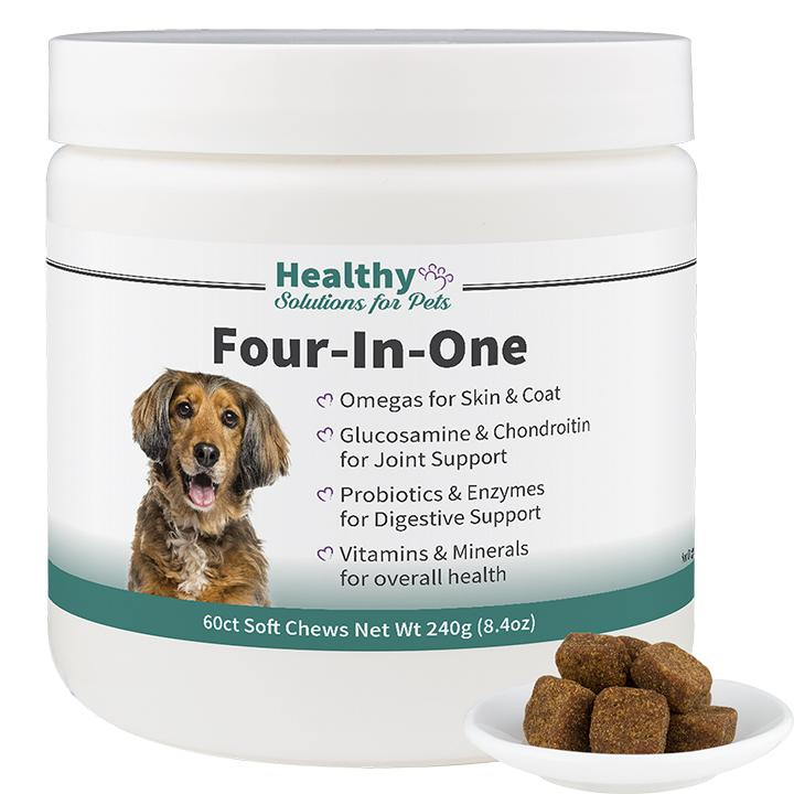 Dog Vitamins Four In One Complete