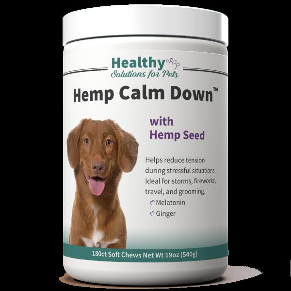 Hemp Calm Down Dog Calming Aid
